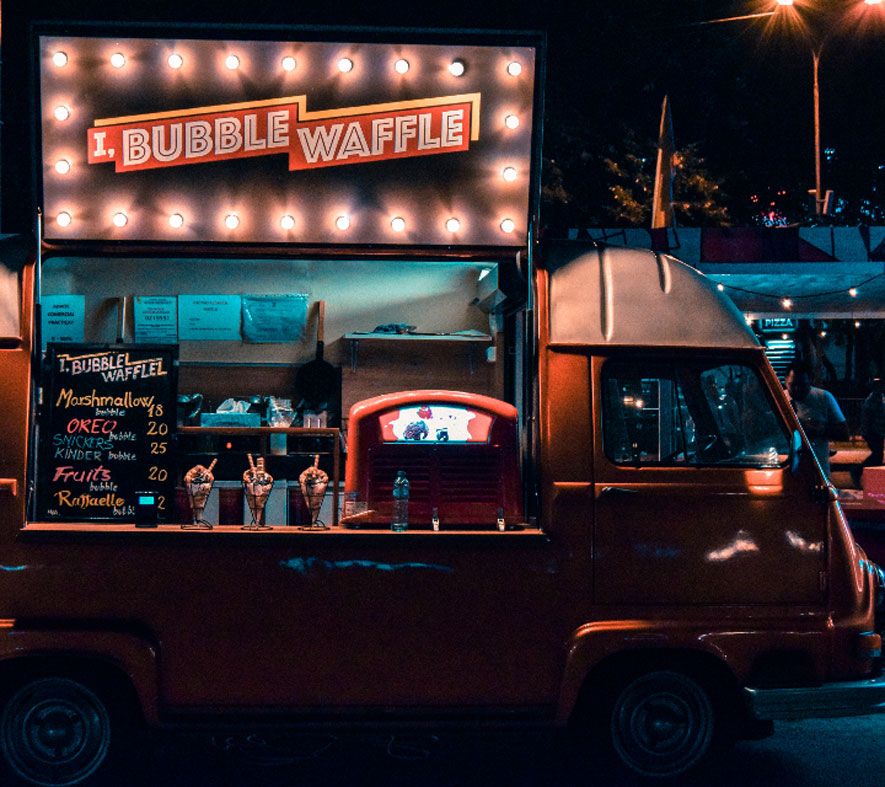Street food e Truck food all'evento
