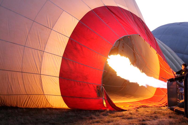 Mongolfiera tuscany ballooning