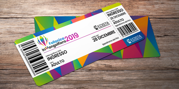 Ticket di accesso all'evento Follonica InMongolfiera
